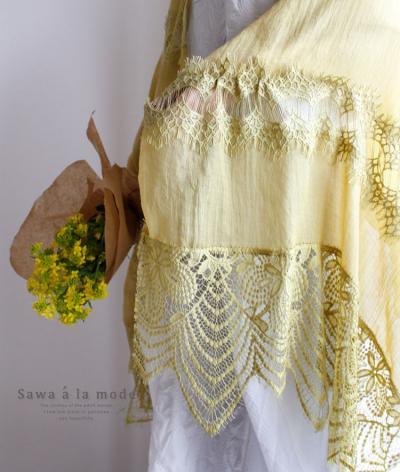 鮮やかに纏うきれい色ストール【7月9日22時販売新作】 mode-0228